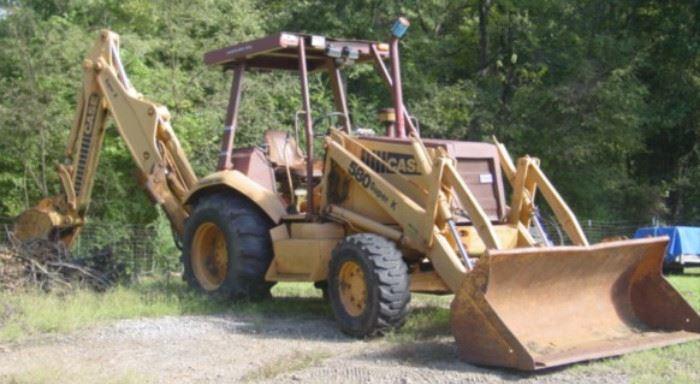 Case 580 Super K   4 x 4 Backhoe