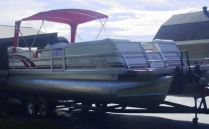 Another View of Pontoon Boat