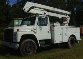 Another View of Bucket Truck