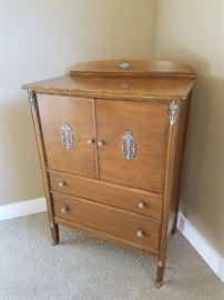 Vintage Highboy Dresser with Detail