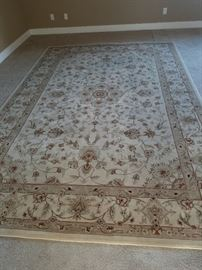 Neutral Tone Persian Style Carpet - approx 8 x 12