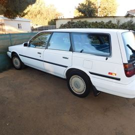 Toyota station wagon  only 42,000 miles
