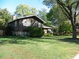 1,550 sf, 5 bdrm, 2.5 bath home with attached 2 car garage on beautifully landscaped corner lot in a quiet Northeast Wichita addition.