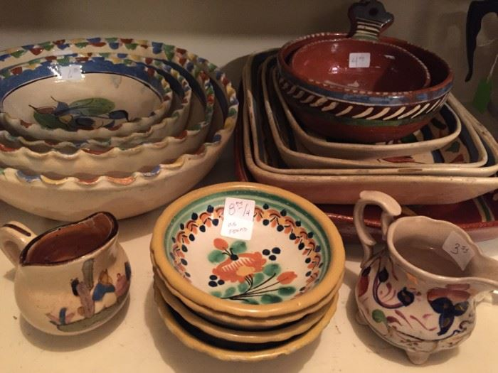 Vintage Mexican Pottery
