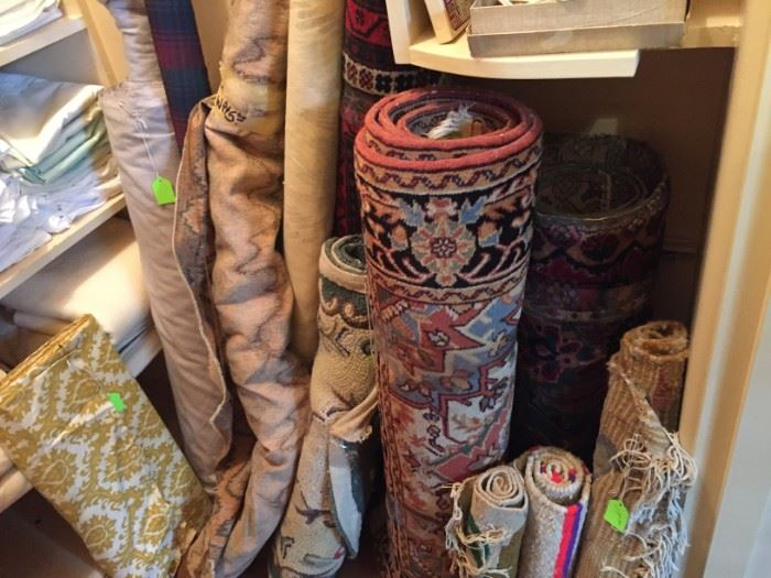 Large Collection of Area Rugs