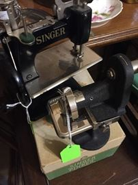 Antique Singer Portable Sewing Machine