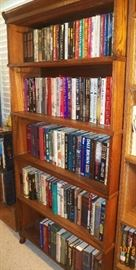 One of many book shelves