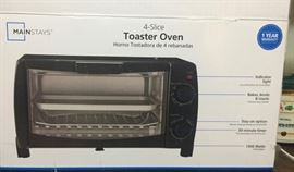 New In Box Toaster Oven