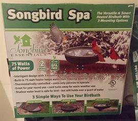 Songbird Heated Birdbath