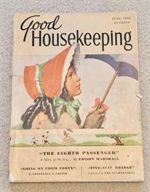 Vintage Good HouseKeeping from June 1938
