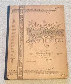 Vintage Landon's Reed Organ Method Book