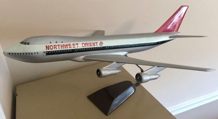 Northwest Orient Model Plane