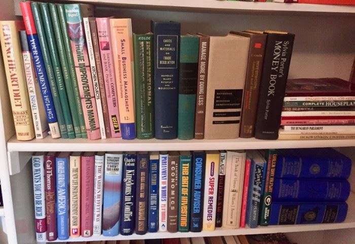 Books - Investing, Business, Home Improvement and more