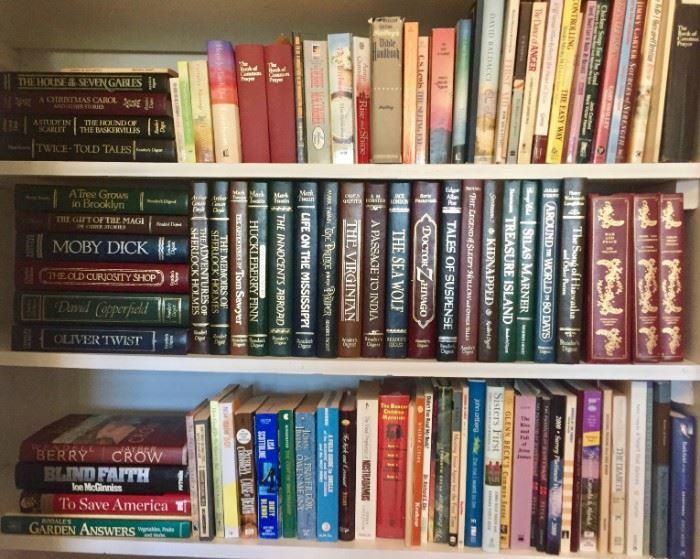 Books, Classics, Fiction and Theology