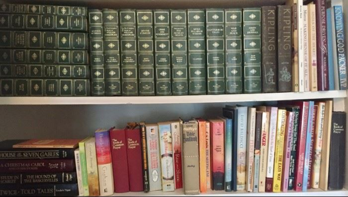 Books - Christain Fiction, Theology, Bibles and US Navy History