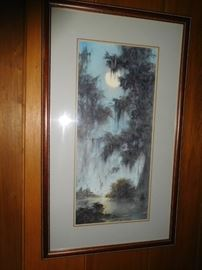 Original art by Louisiana artist Phil Thomasson