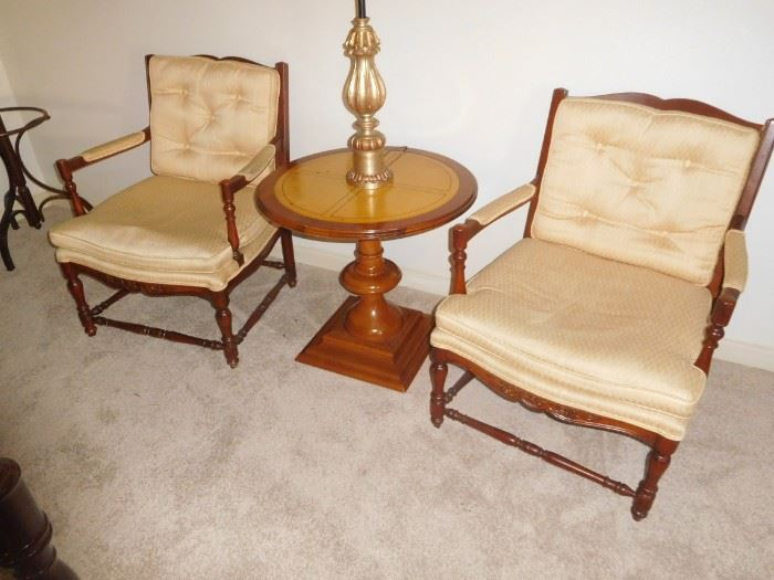 Really nice pair of antique chairs
