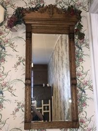 Pretty antique mirror