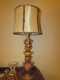 Great looking lamp for tea party.