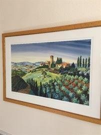 Tuscany artwork