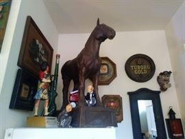 Awesome horse & misc beer items