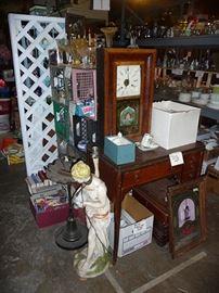 Clock & Sewing Machine