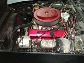 FRESH HIGH PERFORMANCE 350 ENGINE IN CORVETTE