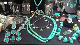 South West Native American jewelry