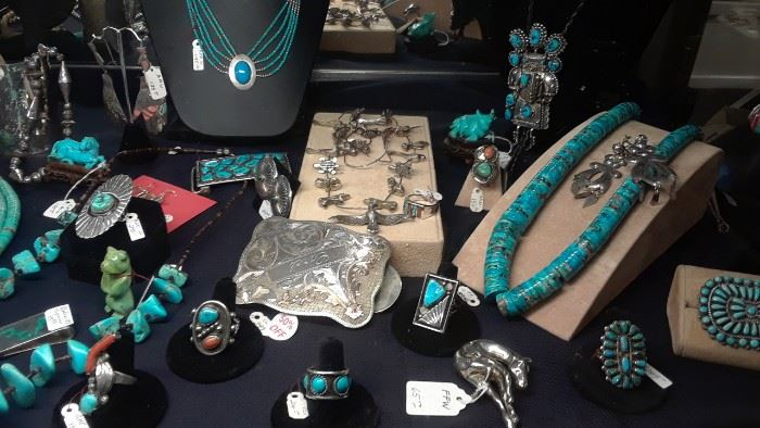 More turquoise and .925 jewelry