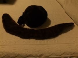 Mink Hat and Stole.