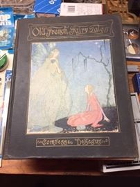 Collectible Books, Old French Fairy Tales 1920.