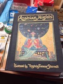 Collectible Book, 1928 Arabian Nights.