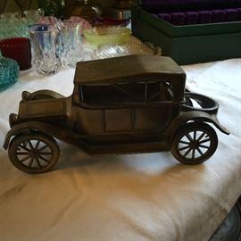 Brass Model T. Car.
