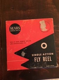 Sears Single Action Fly Reel.