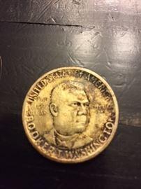 1946 Booker T. Washington Half Dollar.