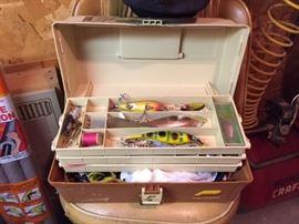 Fishing Tackle Box.