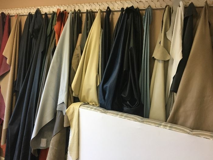 leather scraps and hides