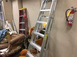 ladders, furniture frames