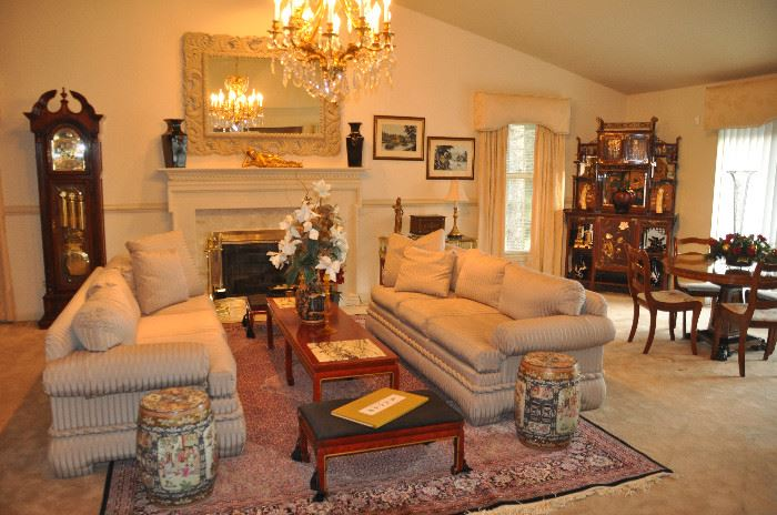 Spectacular Great Room Overflowing with amazing treasures!