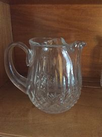 Waterford crystal water pitcher $150