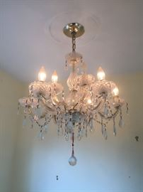 Marano glass crystal chandelier