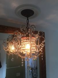 Crystal chandelier $300