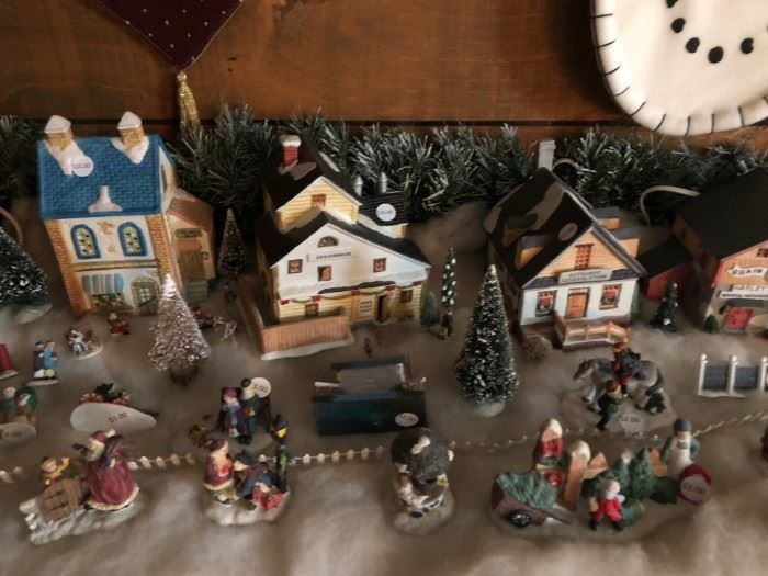 Collectible Town Houses & accessories.