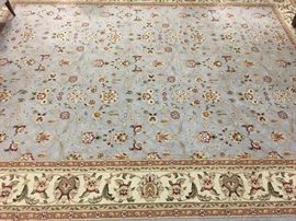 Beautiful carpet - we will post the size by Wednesday.
