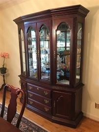 Sumter Cabinet Lighted China Cabinet