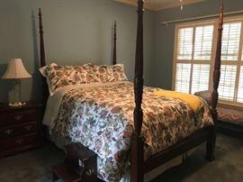 Beautiful American Drew Queen Poster Bed