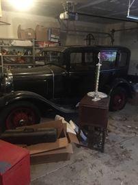 1930 model A ford.  Runs good. Orginal.
