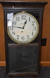 Old Store Coca-Cola Clock (Works)