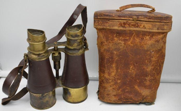 Civil War 1861 CSA Binoculars
