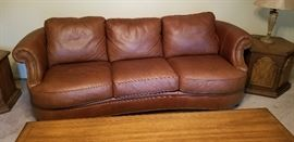 Bernhardt Leather Sofa